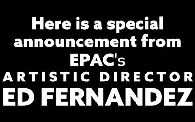 A Special Announcement From Edward Fernandez
